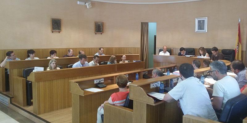Imagen del Pleno celebrado esta mañana en Paterna